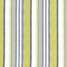 Custom Roman Shades Grey Lime Green Stripe Upholstery Fabric Custom Charcoal