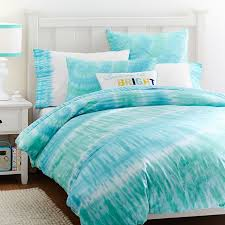 Cool Duvet Covers For Teenagers Surfers Point Tie Dye Duvet Cover Sham Pbteen