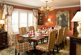 Dining Room Curtains Red Admirableancy Valance Colors Oformal