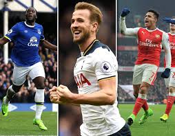 epl table fixtures results and top scorer premier league top scorers golden boot contenders ranked for 2016
