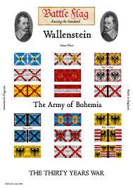 German War Flag 15mm Flags Wallenstein Tyw Thirty Years War Wargame Flags Jpg
