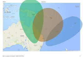 Australia Google Maps Radio Australia Propagation Map And Revised Schedule The Swling Post