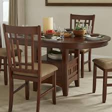Kitchen Table With Storage by Oval Dining Table With Storage Pedestal By Intercon Wolf And