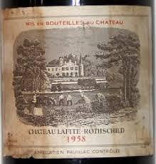 learn about chateau lafite rothschild 1958 château lafite rothschild bordeaux médoc pauillac
