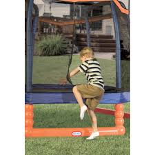 Little Tikes Football Toy Box Little Tikes 7 U0027 Indoor Outdoor Trampoline With Enclosure Walmart Com