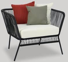 Patio Armchair Black Spinel Patio Armchair Furniture U0026 Home Décor Fortytwo