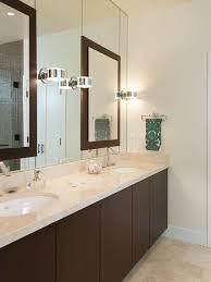 Wood Framed Bathroom Vanity Mirrors Fancy Bathroom Mirror For Double Vanity Bathroom Optronk Home