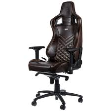 Leather Gaming Chairs Noble Chairs Epic Series Real Leather In Brown Beige Wish List