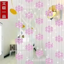 Plum Flower Curtains 2017 Pink Plum Blossom Design Crystal Bead Curtain Crystal Bead