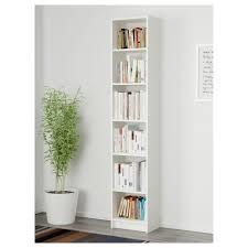 furniture home billy oxberg bookcase white glass pe s design