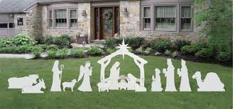 front yard originals nativity decorations and more