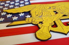 Navy Flag Meanings Navy Seals Usa Wood Flag U2013 Patriot Wood