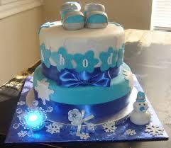 Winter Wonderland Baby Shower Winter Wonderland Baby Shower 2 Tier Cake Top Tier Red Velvet