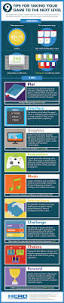 this is an image of a video game design tips info graphic this