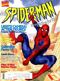 spider man magazine kids comic books