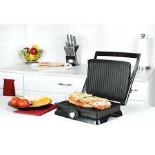 elite cuisine countertop grill black and decker griddle with removable plates