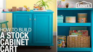 how to make storage cabinets cart construction assembly