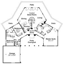 exellent unique house plans floor plan 4 bedrooms o in decorating