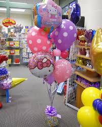 birthday balloon arrangements hello birthday balloons