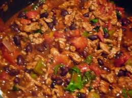 super bowl recipe easy gluten free slow cooker turkey chili