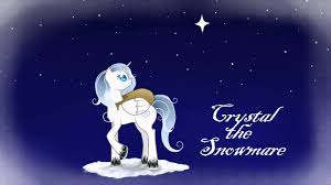 crystal snowmare frosty snowman ponified skybolt