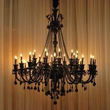 Orange Glass Chandelier 12 Best Ideas Of Black Glass Chandeliers