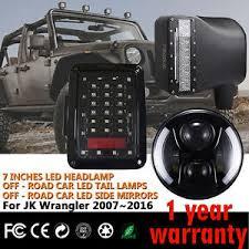 led lights for jeep wrangler firebug 7 jeep wrangler led headlights jeep tail lights jeep side