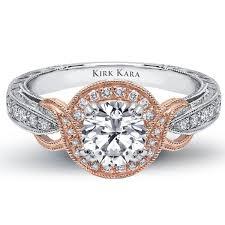 white gold wedding rings for women kirk kara pirouetta 14k white gold ring