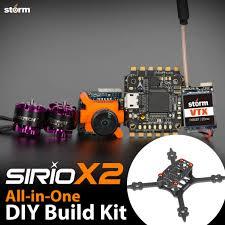 Diy Drone Storm Racing Drone Diy Kit Sirio X2 Helipal