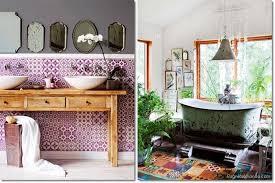 negozi bagni come arredare il bagno in stile boho o bohemien