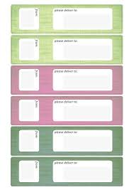 address label template downalod free label templates