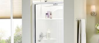 glass shower doors u2013 pivoting sliding tub frameless privacy