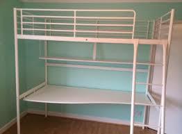 ikea tromso loft bed ikea white tromso bunk bed with shelf desk for sale in templeogue
