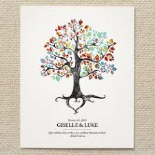 tree signing for wedding wedding guest book alternative fingerprint tree new size 20x30