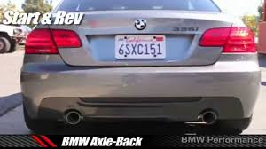 best for bmw 335i best exhausts for bmw e90 e92 335i sound comparison