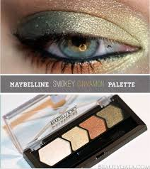 maybelline eyestudio color plush eyeshadow smokey cinnamon
