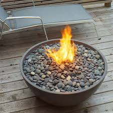 Lowes Outdoor Fireplace by Paloform Miso Firebowl Round Outdoor Fireplace And Fire Pit Glass