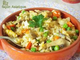 blogs cuisine facile riz façon asiatique facile recette vegetarienne le
