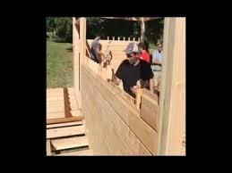 wood lego house wooden house kit youtube