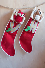 diy vintage christmas stocking diy and crafts pinterest