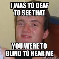 Blind Meme - blind meme 2 son of hel