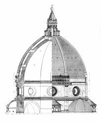 cupola santa fiore brunelleschi santa fiore brunelleschi architectural illustrations