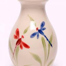 Blue Flower Vases Bud Vases Ceramic Vases From Emerson Creek Pottery