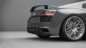 Audi R8 Grey - audi r8 gen 2 brixton forged wheels