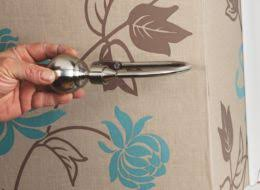 Putting Curtain Rods Up How To Put Up Curtains U0026 Blinds Help U0026 Ideas Diy At B U0026q