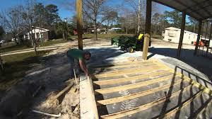 The Pole Barn Framing Walls For The Pole Barn Shop Part 2 Youtube