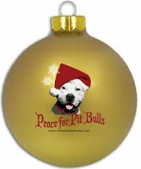 glass pit bull ornament layla s board pit bull