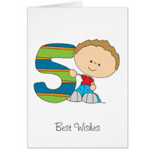 boys 5th birthday greeting cards zazzle co uk