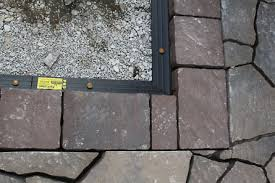 Easy Patio Pavers How To Build A Patio Part 4 Laying Pavers The Hansen Family