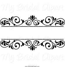 design clipart wedding clip art black and white border cliparts co wedding